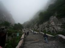 Treppe der 18 Windungen, Tai Shan 泰山, Provinz Shandong (2009)