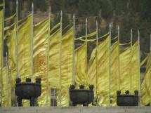 """Am Grabtempel des """"Gelben Kaisers"""" 黄帝陵, Provinz Shaanxi (2010)"""