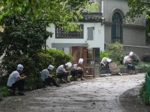 Mittagspause für die Köche, Hangzhou (2012)