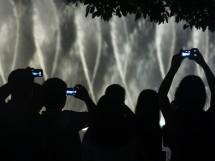 So schön ist die Musikfontäne! Szene am Westsee, Hangzhou (2012)