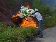 Totenfeier bei Zhuge Cun 诸葛村, Provinz Zhejiang (2012)(