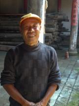 Bauer im Dorf Dushan 独山, Provinz Zhejiang (2012)