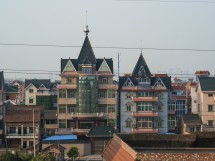 Bauernvillen nahe dem Flughafen von Hangzhou (2012)