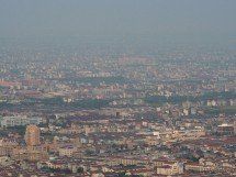 Verstädterung östlich von Hangzhou (2012)