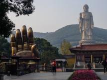 Der Riesenbuddha vom Ling Shan 灵山, Wuxi, Provinz Jiangsu (2012)