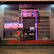 Discoeingang in Wan Zhai (2013)