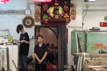 Fischlokal in Lei Yue Mun (2013)