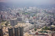 Kowloon, Blick vom ICC (2013)