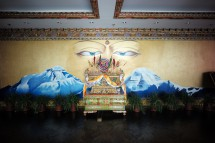 Hotelhalle in Lhasa, Tibet (2014)