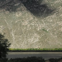 Tal des Lhasa-Flusses südl. von Lhasa, Tibet (2014)