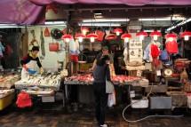 Fischverkäufer an der Bowrington Street (2015)