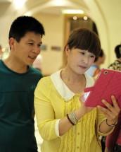 Hochzeitsfotos auf dem iPad! (Hangzhou 2012)